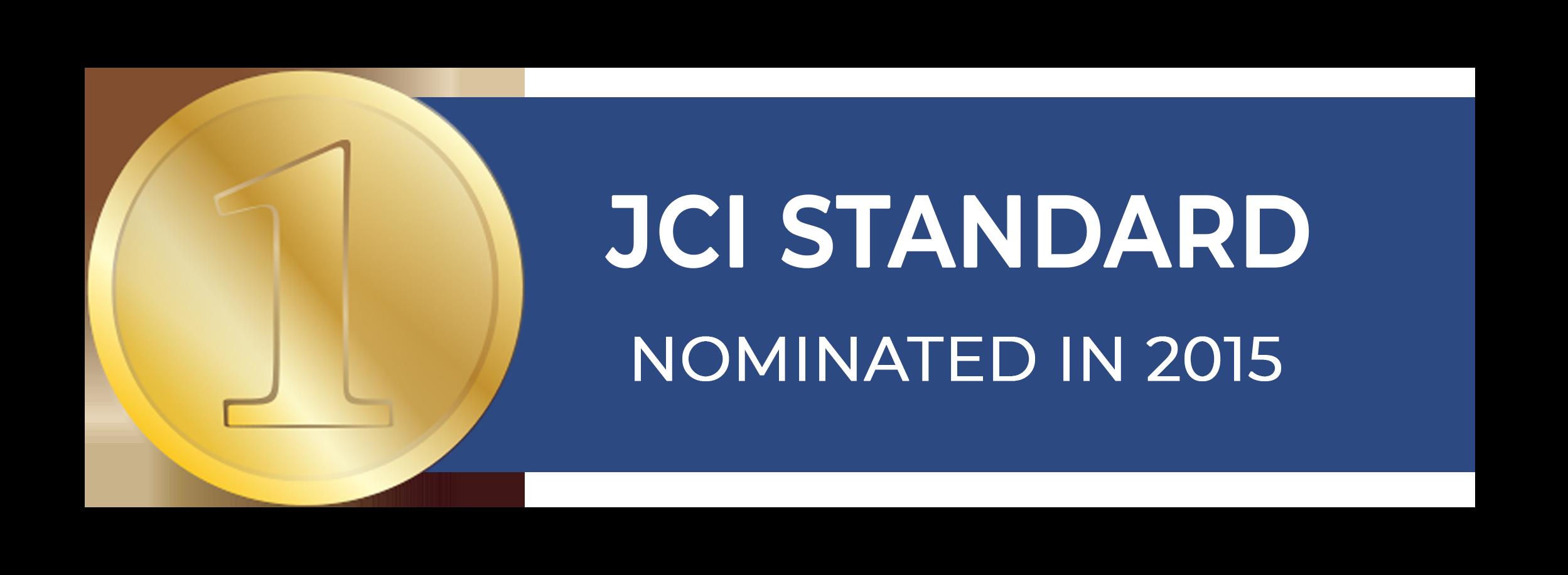 JCI standard logo